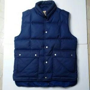 ST JOHN'S BAY Down Filled Puffer Vest size L NWOT